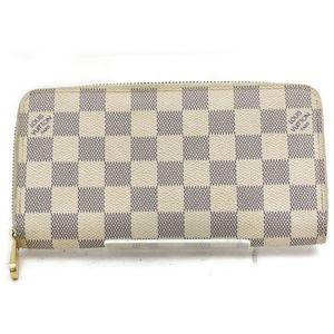 💯Authentic Louis Vuitton Zippy Damier Azur Wallet